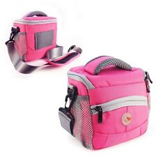 Tuff-Luv Small Shoulder Bag camera case cover for Camera / Compact DSLR - Pink