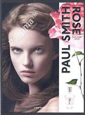 PAUL SMITH Rose 2007 perfume Print Ad