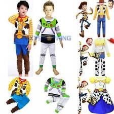 Kids Cosplay Toy Story Costume Buzz Woody Lightyear Jessie Travis Fancy Dress