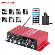 NKTECH MA-130 Car 3A Digital Amplificatore Player Bluetooth HiFi Stereo BASS MIC