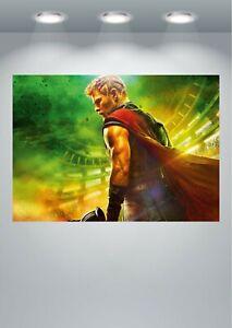 Thor Chris Hemsworth Large Poster Art Print in multiple sizes
