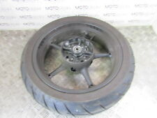 Yamaha MT 03 660 2013 rear wheel rim with 20% tyre - light rash see photos