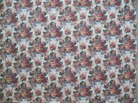 Cottage Chic Roses 100% Cotton Fabric BTY Cabbage Classic Quilt Decorator
