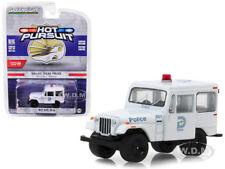 1977 JEEP DJ-5 DALLAS, TEXAS POLICE 1/64 DIECAST MODEL CAR BY GREENLIGHT 42860 B