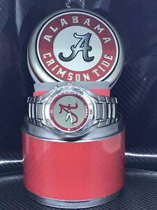 Alabama Crimson Tide NCAA Stainless Steel Keleido Watch by Fossil NEW (RARE)