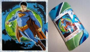 "SUPERMAN RETURNS ""Man of Tomorrow"" Polar Fleece Blanket/Throw (127x152cm) Single"