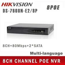 Hikvision DS-7608NI-E2/8P 8CH & 8POE HD 5MP NVR Network Video Recorder