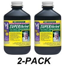 2-PACK SUPERTHRIVE 4oz, B Vitamins Plant Food Fertilizer Hormones super thrive