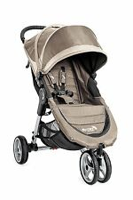 Baby Jogger 2016 City Mini Single Stroller - Sand/ Stone - New! Free Shipping!