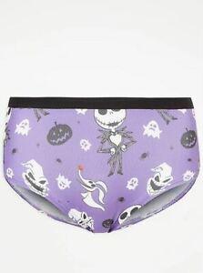 Ladies Knickers Disney Nightmare Before Christmas Short Underwear George Jack