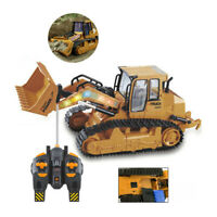 1:12 RC Excavator Shovel Light Remote Control Construction Bulldozer Truck Toys