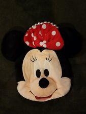 Tokyo Disney Minnie Mouse face coin purse pearl handle girls bag handbag Rare