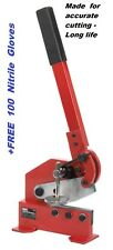 Metal Cutting Shears 4mm Capacity 10mm Round  Sealey
