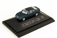 1:87 Mercedes-Benz CLK C208 Blue lagoon-met. Collectors Club 1997 - Herpa 195973