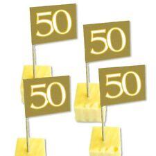 Picker mit der Zahl 50 goldene Hochzeit Geburtstag