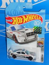 Hot Wheels 2018 Factory Set HW Metro #208 Dodge Charger Drift White Police