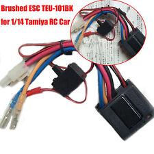 Brushed Brushless ESC Transmission TEU-101BK for 1/14 Tamiya RC Car Repair New