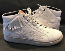 New_UGG Men's Cali Lace High Top Fringe Palms Suede Sneaker Shoes_Size 15_Spring