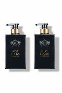 Foxy Locks Nourish & Restore Luxury Shampoo + Conditioner with Argan Oil