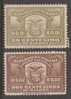 Panama revenue Fiscal stamp mint mnh gum 9-28-20-