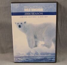 Mutual of Omaha's Wild Kingdom 2006 Season Limited Edition 4 DVD Set 12 Episodes