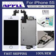 For iPhone 5S LCD Display Touch Screen Digitizer White Replacement Button
