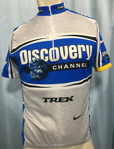 M DISCOVERY TREK SUBARU TEAM Nike DRI-FIT Cycling Jersey ITALY Lance Armstrong