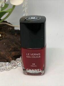Chanel Le Vernis Nail Polish - 08 Pirate - .4 oz Full Size - New