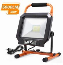 Tacklife 5000LM 50W LED Work Light,IP65 Waterproof,Adjustable Standing ForWorks