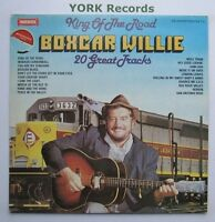 BOXCAR WILLIE - King Of The Road 20 Great Hits - Ex LP Record Warwick WW 5084