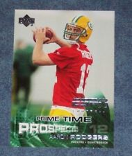 2005 UPPER DECK ESPN PRIME TIME PROSPECTS AARON RODGERS ROOKIE CARD #101