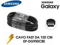 Cavo Dati Ricarica Rapida Nero USB-C Originale Samsung Galaxy S9 S8 S8+ S9+