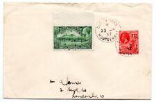 Montserrat 1937 cover from village of Cudjoe Head to UK