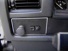 D BMW E30 Chrom Rahmen für Lichtschalter aus poliertem Edelstahl
