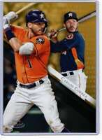 Carlos Correa 2019 Topps Gold Label Class One 5x7 Gold #26 /10 Astros