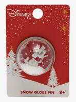 Disney Loungefly Aristocats Marie Dressed For Winter Snow Globe Metal Enamel Pin