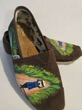 TOMS  special design Classic Canvas Flats Shoes Womens W9