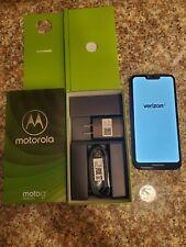 Motorola G7 Power Verizon -Blue ‐ w/ accessories in Motorola Box-Good Condition