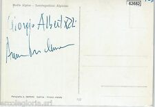 62682  - AUTOGRAFO  -  CINEMA - Giorgio Albertazzi + Anna Proclemer