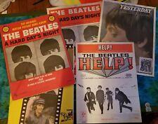 Beatles Sheet Music LOT! Book Photos Memorabilia Hard Days Night Yesterday Help!