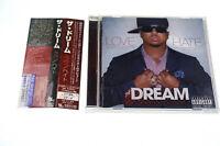 THE-DREAM LOVE/HATE UICD 6148 CD JAPAN OBI A6044
