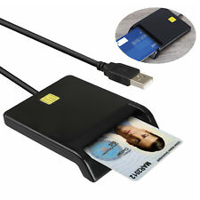 Smart Card Reader DOD Military USB Common Access CAC compatible Windows Mac OS