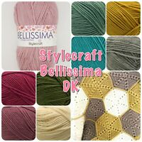 Stylecraft BELLISSIMA DK Double Knitting Soft Acrylic Yarn 100g