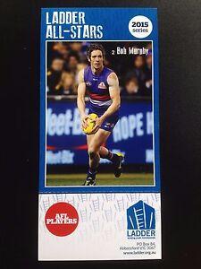 2015 Ladder AFL All Star Card Bob Murphy Western Bulldogs