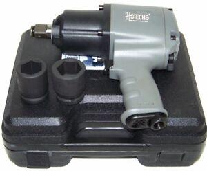 "3/4"" Drive Air Impact Wrench Twin Hammer 885 ft/lb max  2 3/4"" DR socket H D Gun"