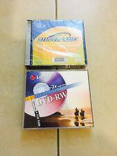 4 X Silver Line DVD+R DL 8.5GB Factory Sealed + 2 X LG Open Dvd-rw 4.7GB
