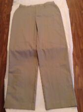 Size 16 Husky Austin Clothing Co pants uniform khaki front boys teens New
