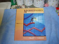 Macroeconomics : Principles and Applications by Marc Lieberman and Robert E. Hal