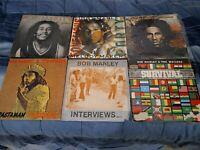 Bob Marley Vinyl LP Lot #2