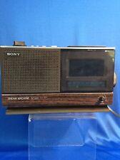 Vintage 1980 Sony ICF-C21W AM/FM Alarm Clock Radio Dream Machine AS-IS